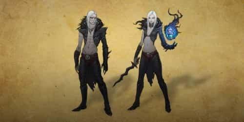Некроманты мужчина и женщина в игре Diablo 3