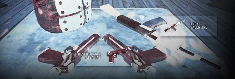 AN94 Valentine Deagle Valentine Infestation New Z