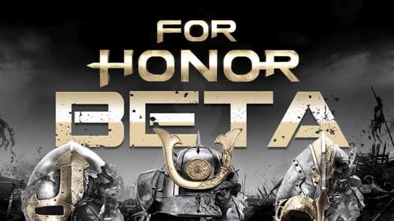 Открытый бета тест For Honor