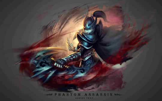 Phantom assassin в Dota 2