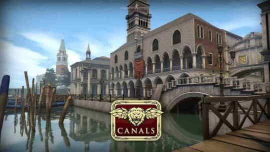 Обновление в CS:GO карта Canals