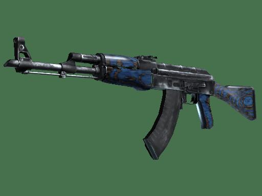 AK-47 | Синий глянец
