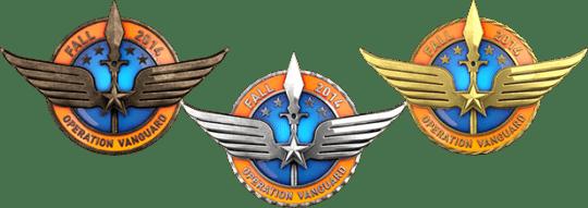 Медали за операцию Авангард