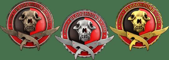 Медали за операцию Бладхауд