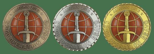 Медали за операцию Браво