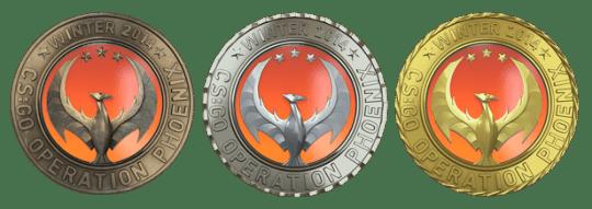 Медали за операцию Феникс