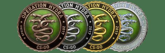 Медали за операцию Гидра