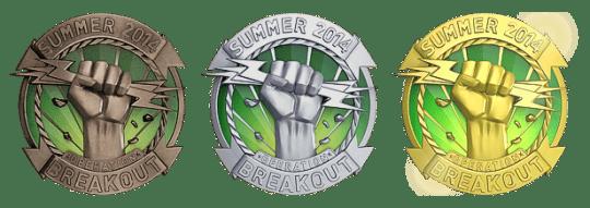 Медали за операцию Прорыв