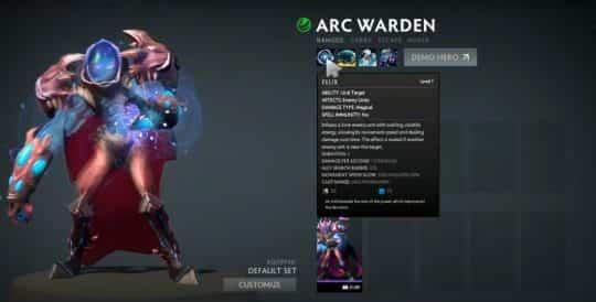 Arc Warden Dota 2
