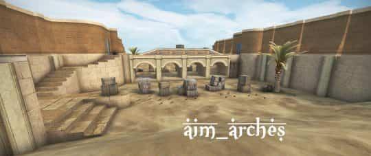 Карта aim_arches для CS:GO