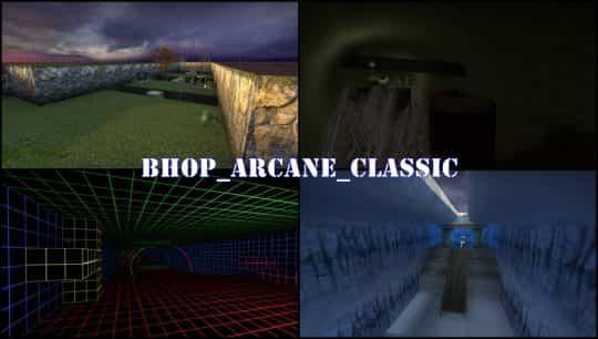 Карта bhop_arcane_classic для CS:GO