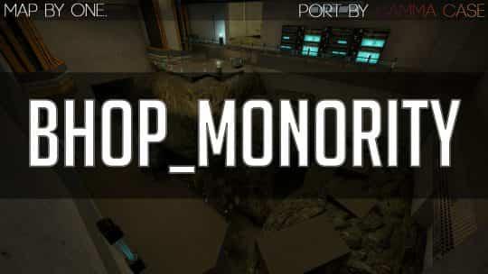 Карта bhop_monority для CS:GO