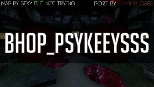 Карта bhop_psykeeysss для CS:GO