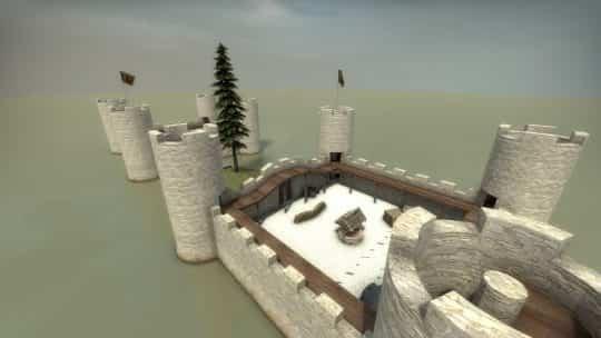 Карта fy_castles для CS:GO