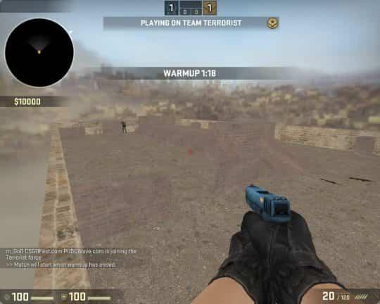 Карта 1v1 DesertMAP для CS:GO