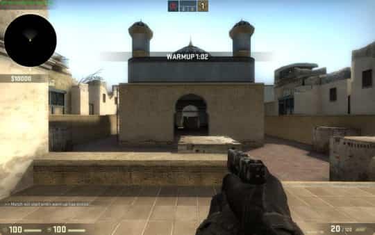 Карта am_dusty для CS:GO