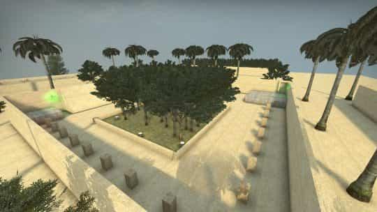 Карта bhop_africa для CS:GO