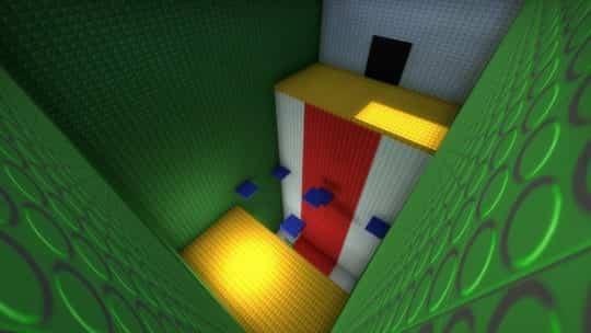 Карта bhop_lego_color для CS:GO