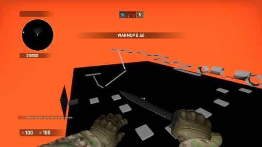 Карта bhop_no_triggers для CS:GO