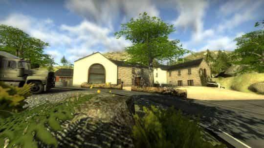 Карта cs_ardennes для CS:GO