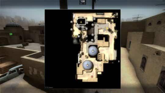 Карта de_dust2_css_newB для CS:GO