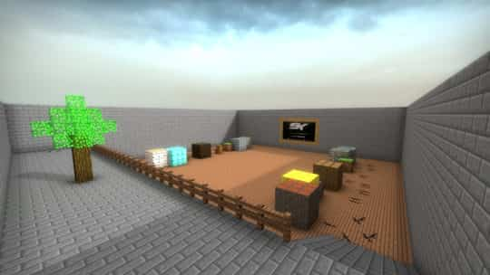 Карта aim_redline_minecraftmb для CS:GO