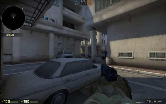 Карта am_dust_street для CS:GO