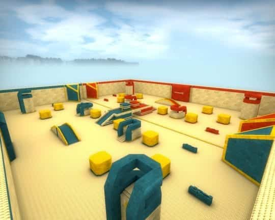 Карта awp_lego_4bunkers_rebuild для CS:GO