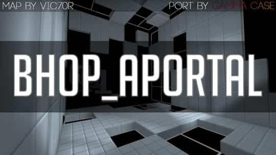 Карта bhop_aportal для CS:GO