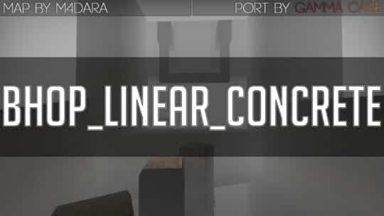 Карта bhop_linear_concrete  для CS:GO
