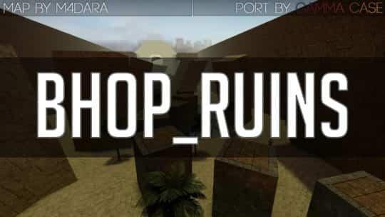 Карта bhop_ruins для CS:GO