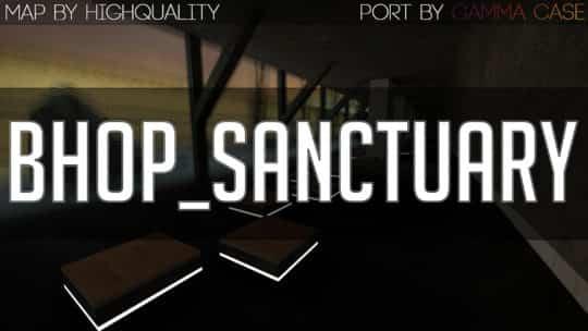 Карта bhop_sanctuary для CS:GO