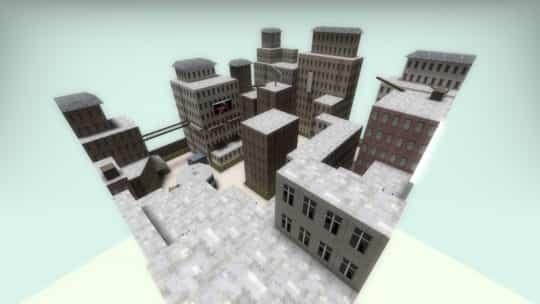 Карта hns_floppytown_mix для CS:GO