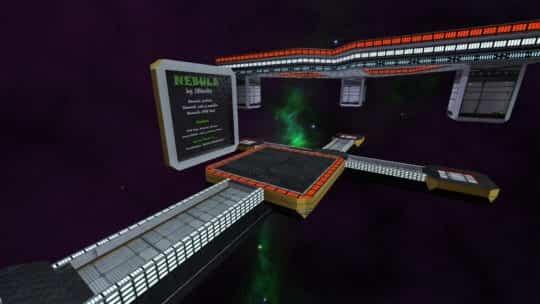 Карта surf_nebula для CS:GO