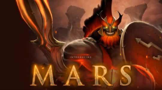 Mars Dota 2