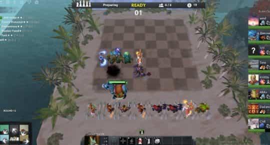 Дота Auto Chess таблица