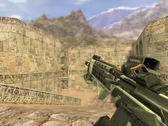 Модель оружия CS:1.6 - AK47 Omega