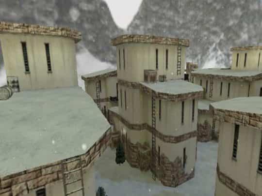 Карта CS:1.6 - hns_winter