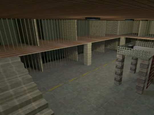 Карта CS:1.6 - jail_numbed