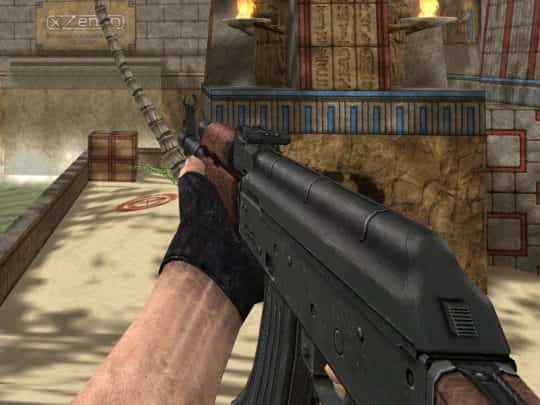 Модель оружия CS:1.6 - AK-47 Darkstorn's