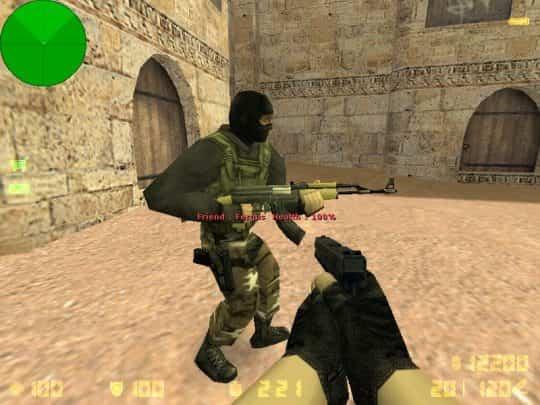 Модель оружия CS:1.6 - AK47 Desert tan