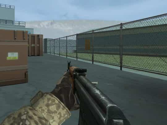 Модель оружия CS:1.6 - AK47 on Trollestia's anims