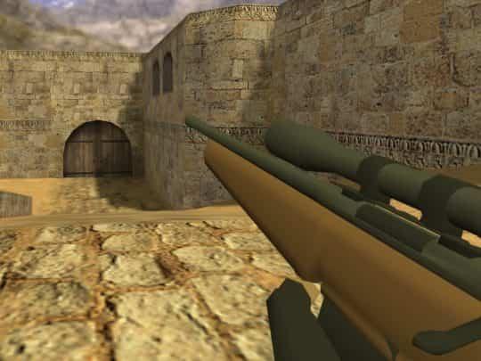 Модель оружия CS:1.6 - Cartoony Hunting Rifle