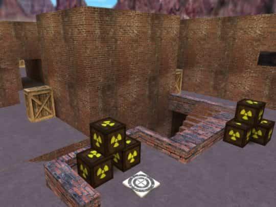 Карта CS:1.6 - de_bricks2x2