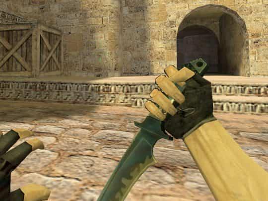 Модель оружия CS:1.6 - knife and hands